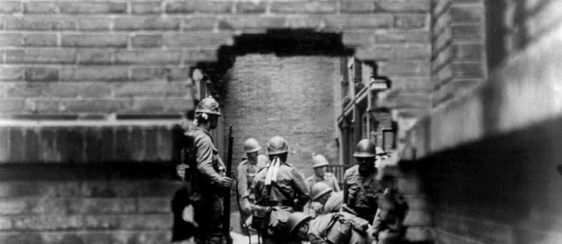 the consequences of the sino japanese war between 1944 1945 Sino-japanese war in the 1930s, china was a divided country the only real consequence of this was that an outraged japanese delegation stormed out of the league of nations, never to return in 1937 skirmishing between japanese and chinese troops on the frontier led to what became known.